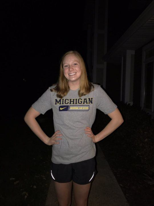 Caroline Sisson Stays Local, Verbally Commits to Michigan Wolverines