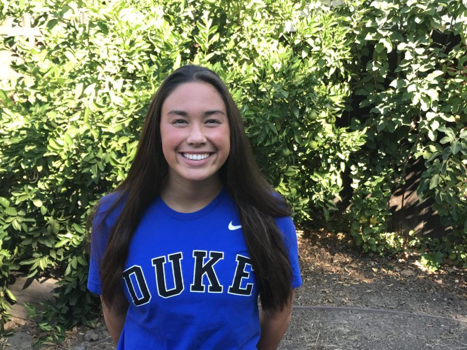 Duke Adds Verbal Commitment from Multi-Talented Zoe Lusk