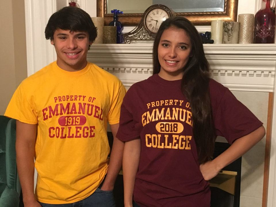 Twins Natalie and Hunter Hayes Verbally Commit to Emmanuel College