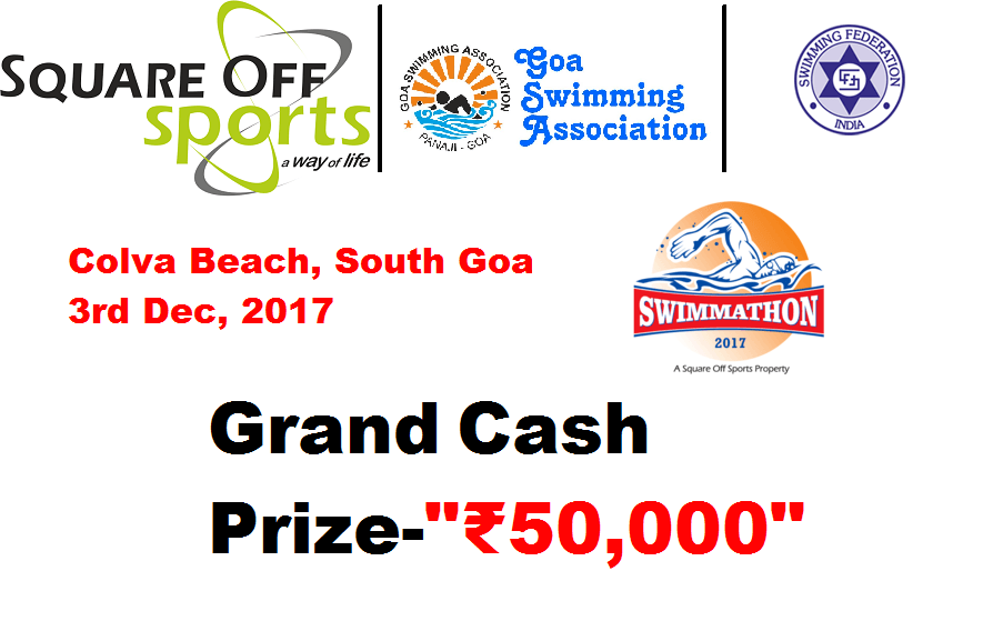 Swimmathon 2017: Grand Cash Prize ₹50,000