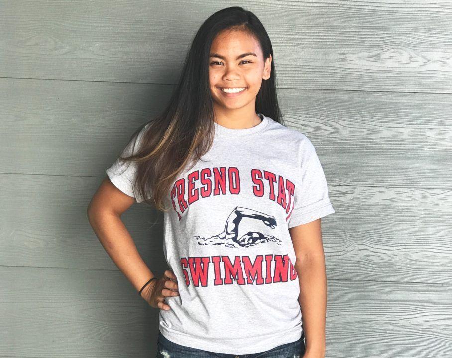 Breaststroker Jannae Torres Sends Verbal to Fresno State Bulldogs