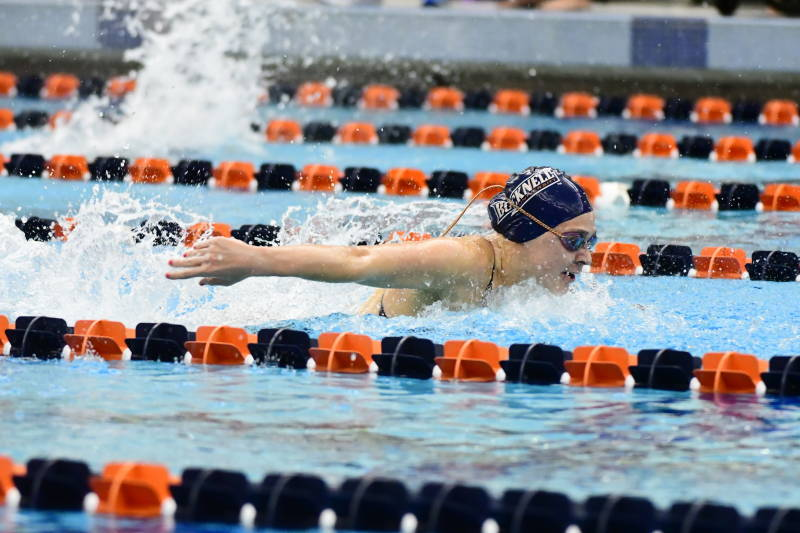 Bucknell Women Defeat Boston U 167-133, Men Fall 102-184