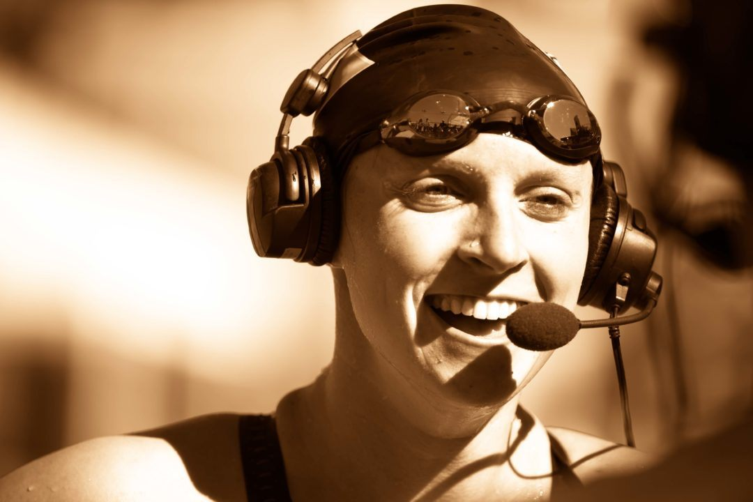 "Ledecky: ""I feel really good about the work I've put in"" (Video)"