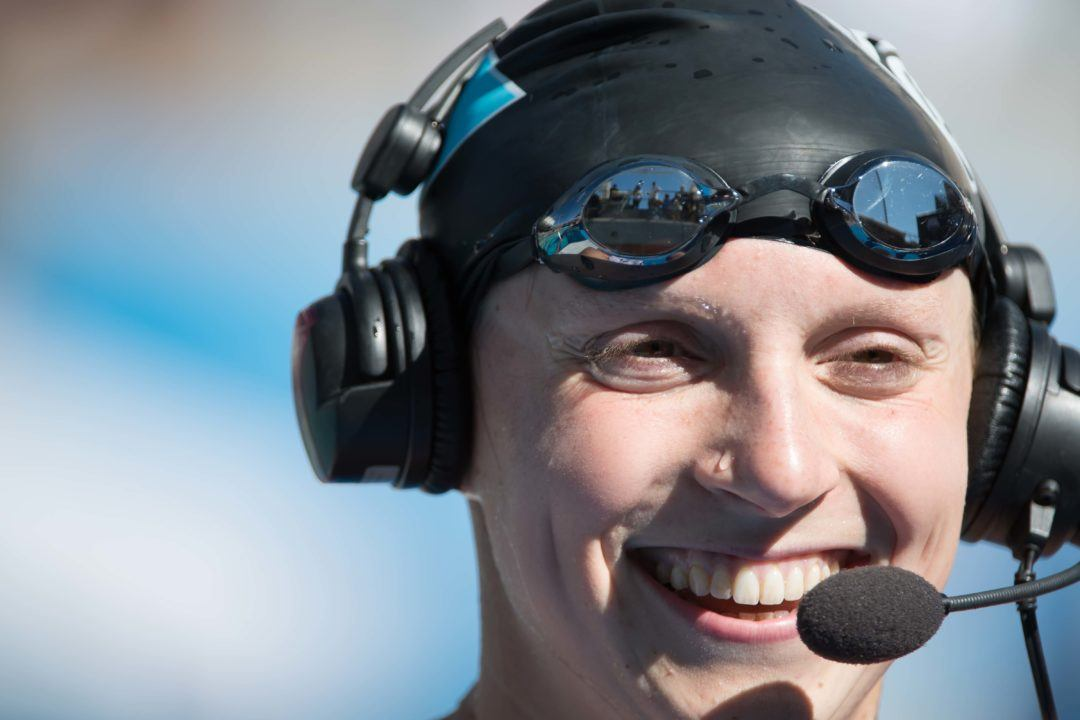 Katie Ledecky's Casual 4:28 This Weekend Was… Casual?