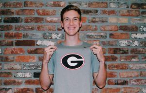 UGA Junior Keegan Walsh Posts 1:41 200 Backstroke at Bulldog Last Chance Meet
