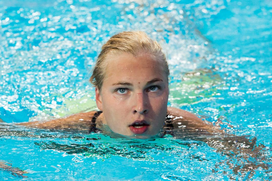 Ruta Meilutyte Swims First-Ever 1500 Free at Aussie SC Champs