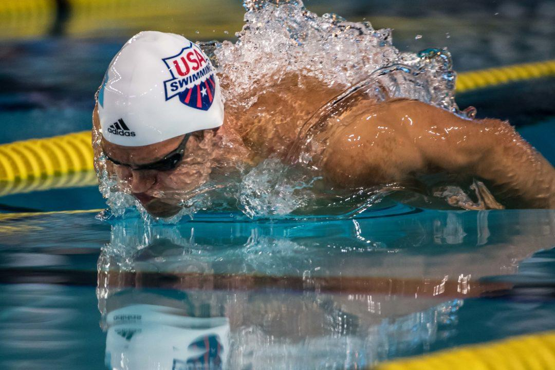 Michael Andrew Showing Impressive Form At Columbus Pro Swim Series