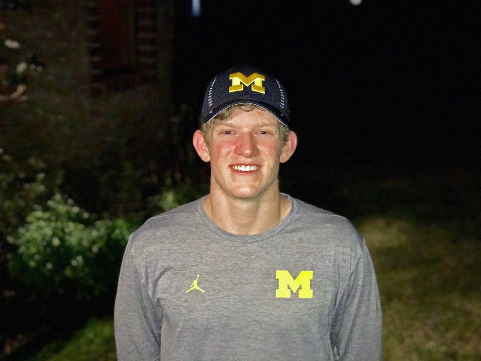 #6 Patrick Callan Announces Verbal Commitment to Michigan