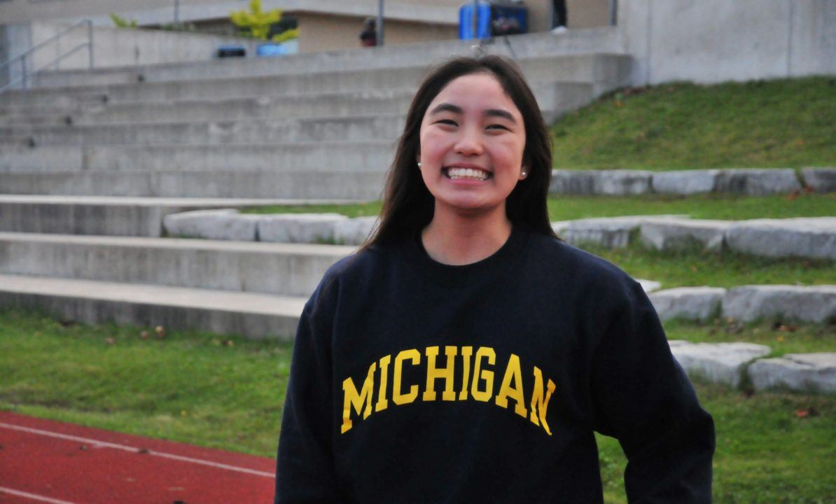 Junior Worlds Finalist Victoria Kwan of Canada Gives Verbal to Michigan