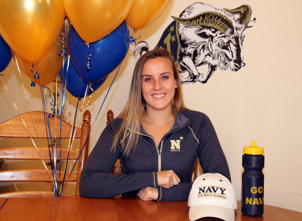 MIAA Division I State Champ Madison Milbert Verbally Commits to Navy