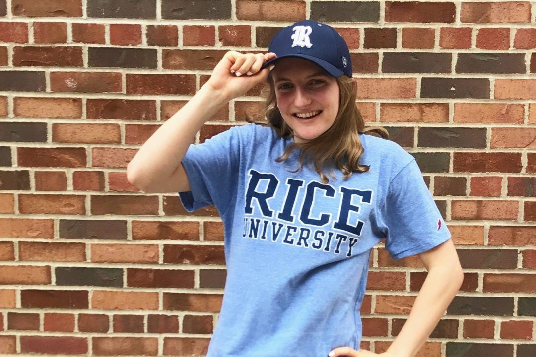 Becca Evans of Fairport Area Swim Team Verbally Commits to Rice