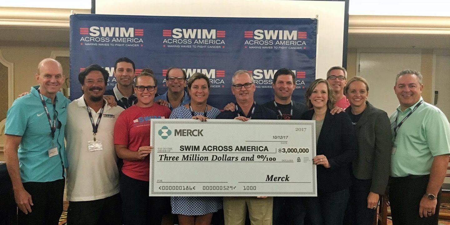 Merck Makes a $3 Million Charitable Contribution To Swim Across America