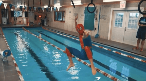 11 Swimmers Who Went Hard on Halloween