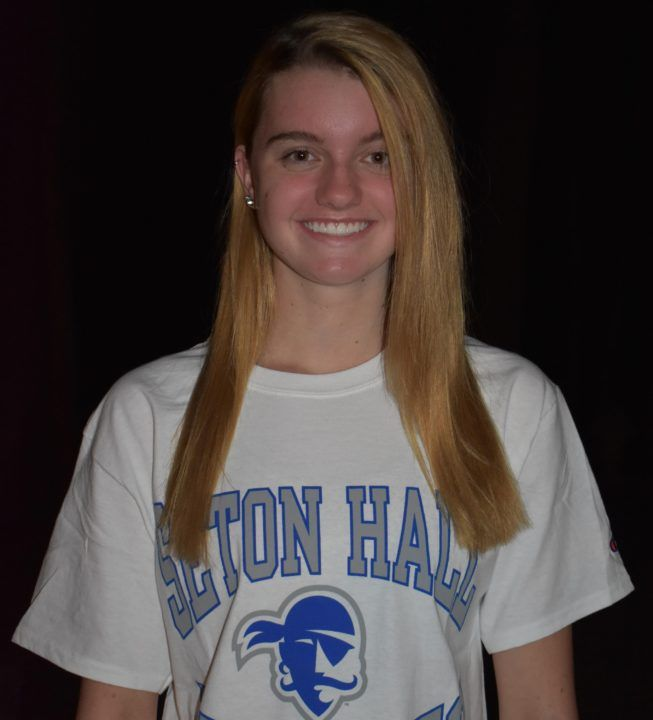 Mid-Distance and Distance Freestyler Heidi Dickson Gives Verbal to Seton Hall