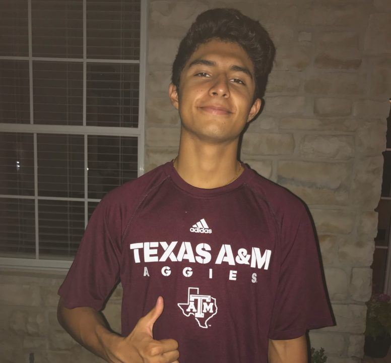 Texas A&M Reels In Verbal from In-state IMer Alberto Gomez