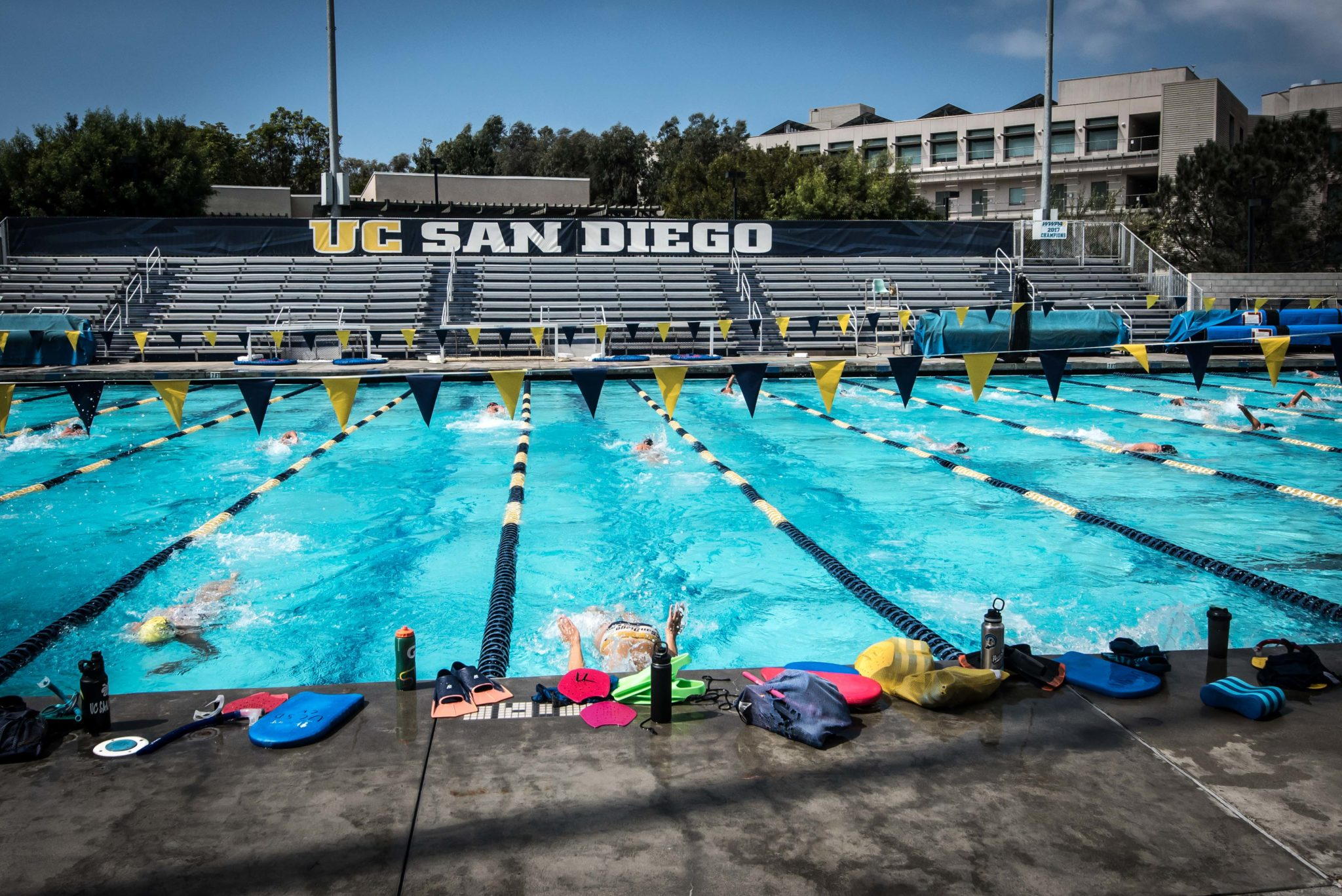 Uc san diego to participate in collegiate para swimming series - Clairemont swimming pool san diego ca ...