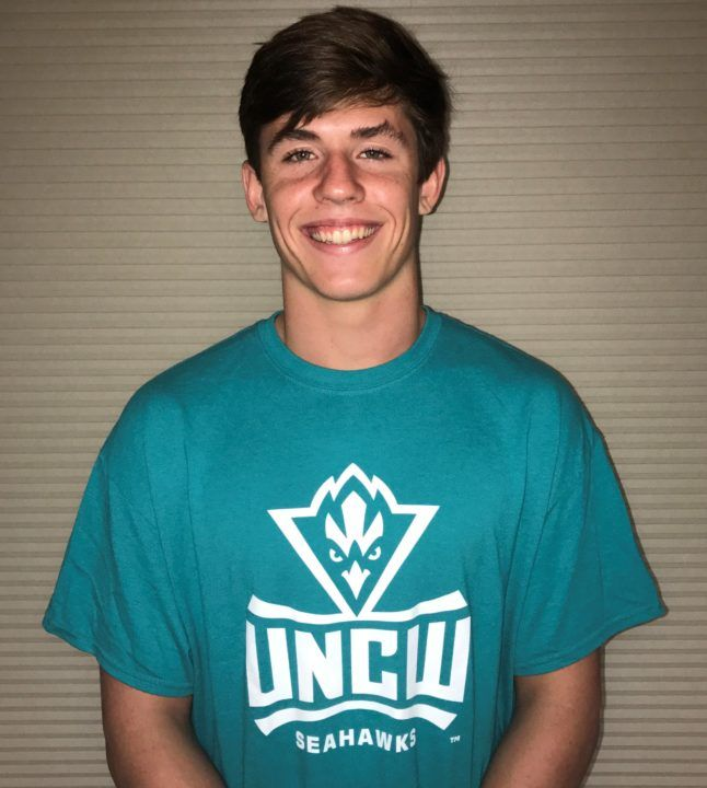 Avery Gambill of SwimMAC Verbally Commits to UNC Wilmington