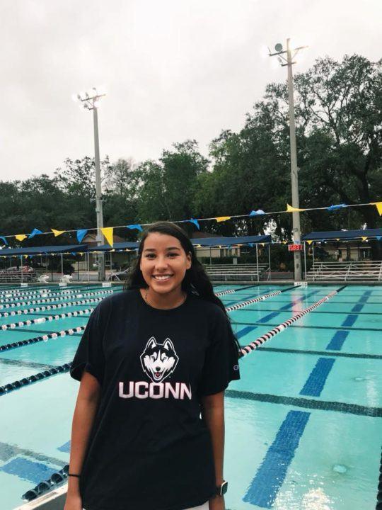 UConn Picks Up Commitment from Bolles Sprinter Stefanie Mendizabal
