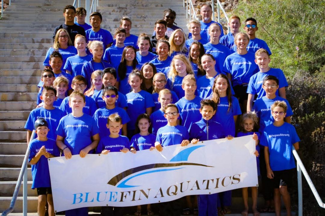 BlueFins Aquatics Ran #VegasStrong Fundraiser To Help Shooting Victims