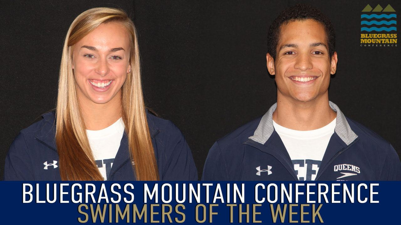Queens Sweeps Bluegrass Mountain Swimmer Of The Week Honors