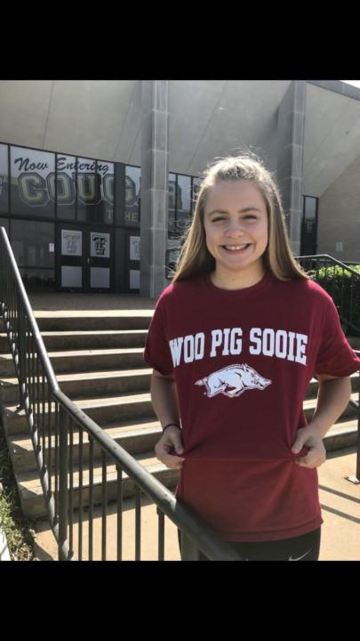Texas 5A Champion Emma Garfield Verbally Commits to Arkansas
