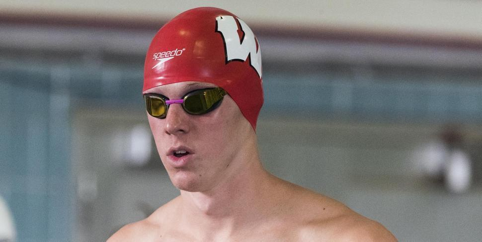 Wisconsin's Novinski Earns Big Ten Men's Freshman Of The Week