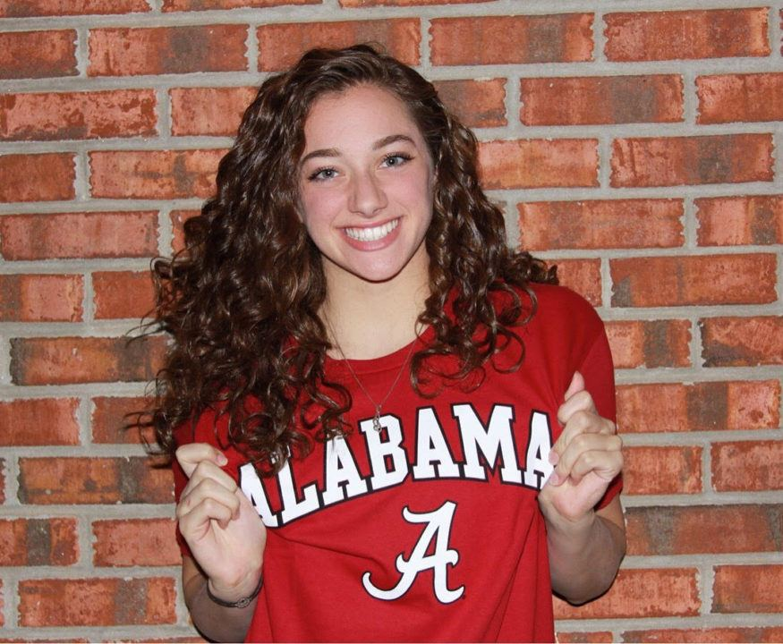 IM/Breaststroker Marianne Allard Verbally Commits to Alabama