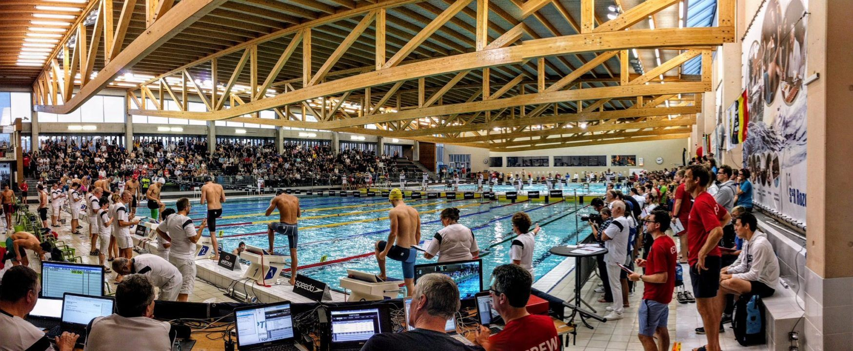 Valentina Dumont Breaks Belgian Record in 200 Free at SC Nationals