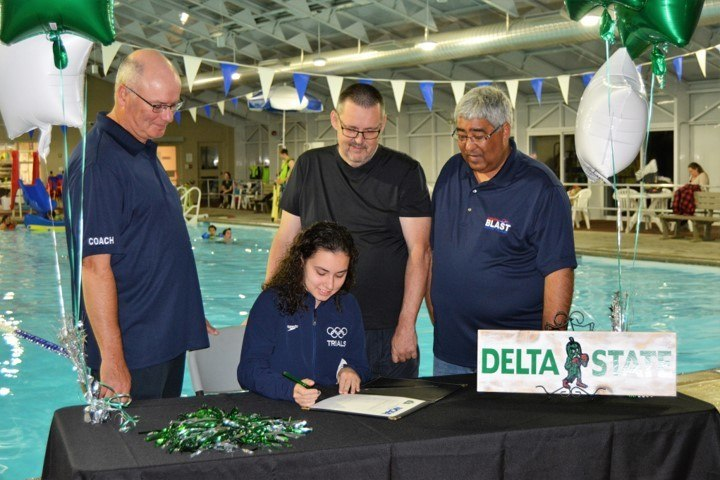 Delta State Reels in Peyton Osborn, Maddy Lavoie, and Gillian Pratt