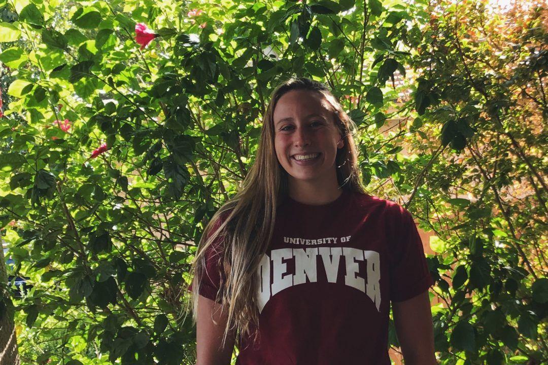 IMer/Butterflyer McKayla Sanchez Commits to Denver