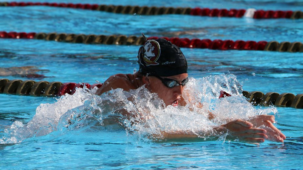 Ida Hulkko Splits 27.15 50 Breast In FSU, Pitt, Georgia Tech Double Dual
