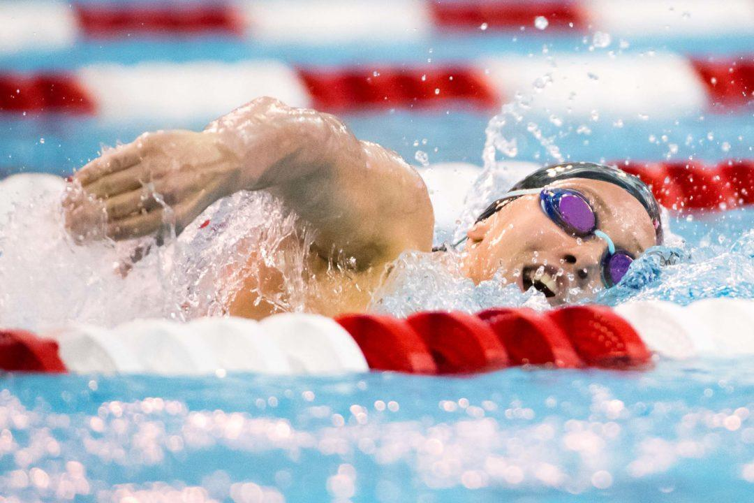 Comerford Scratches 50 Free to Focus on 500 for Day 2 of ACC Champs