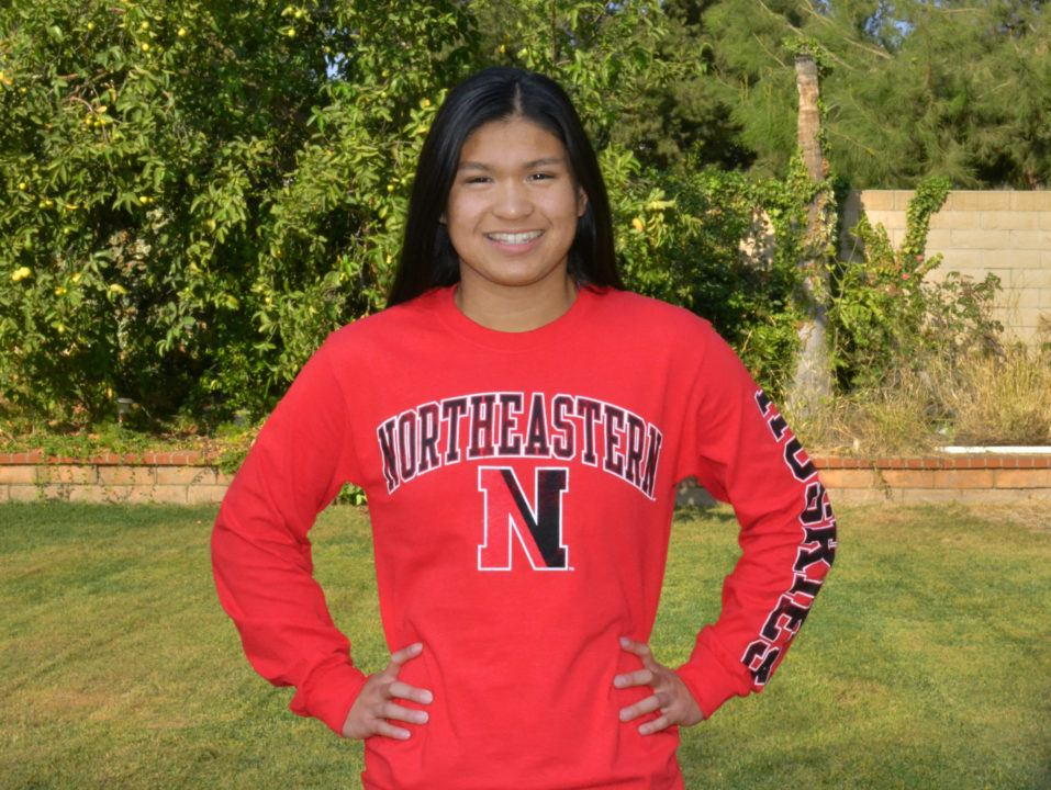 Northeastern Secures Verbal Commitment from Butterflyer Kelly Cheng