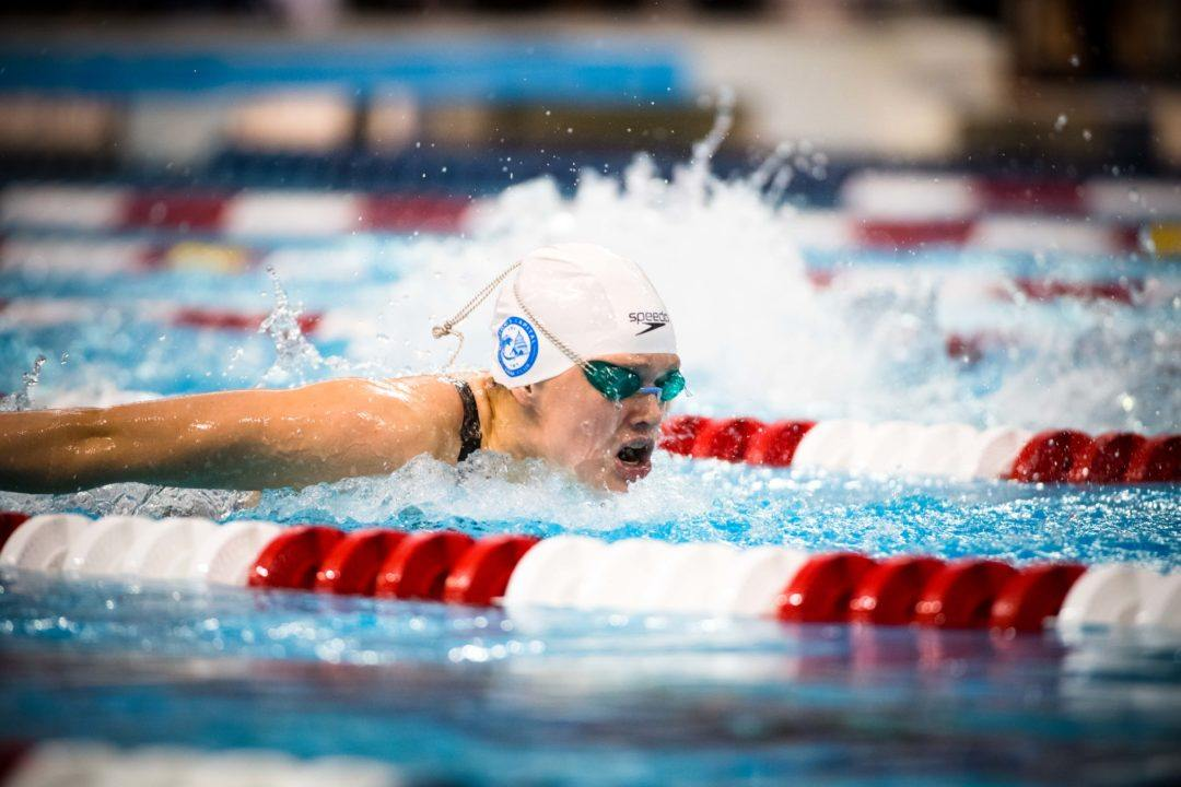 Phoebe Bacon Posts 52.5 100 Back at NCSA Day 4 Prelims