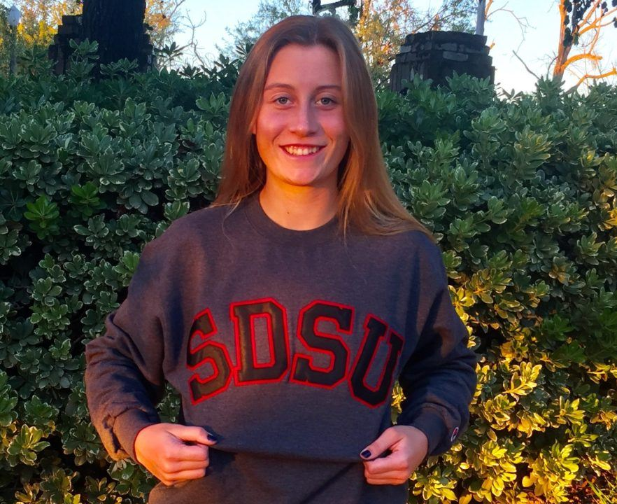 Sac-Joaquin Section Champion Kristina Murphy Verbally Commits to SDSU