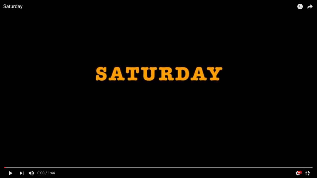 "Tennessee Volunteers Swimming Hype Video: ""Saturday"""