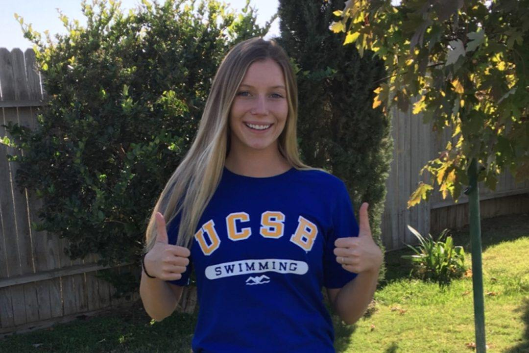 Distance Freestyler Kassidy Lemminn Commits to UCSB