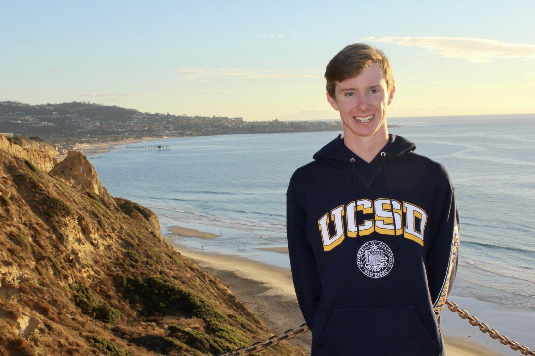 UCSD Picks Up Local Middle-distance Freestyle Ace Mitchell Stoddard