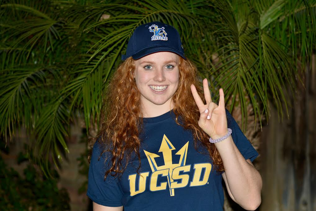 UCSD Women Pick Up 6th Verbal from Versatile Olivia Parks