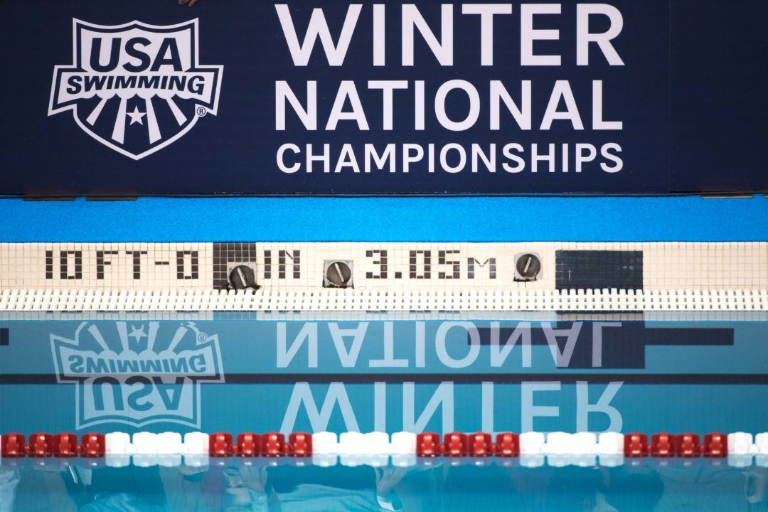 2018 Winter Nationals Will Be in Greensboro (in Long Course)