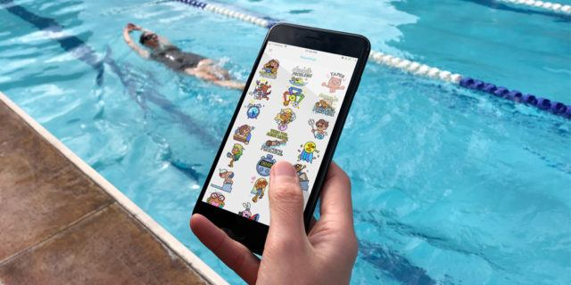 SwimOutlet com Introduces Aquamojis For Your Iphone