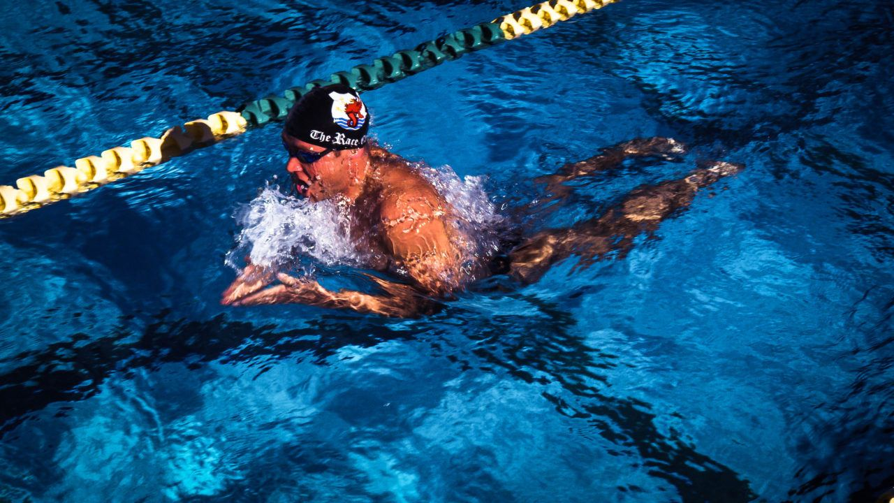 For Butterfly And Breaststroke: Use Your Head