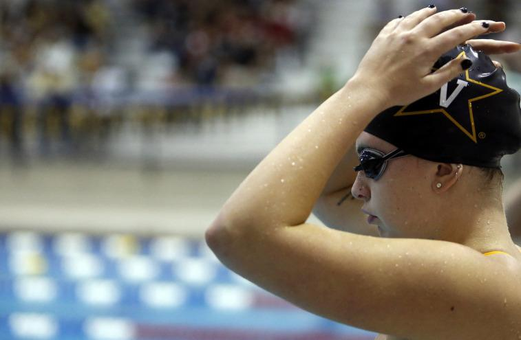 Vanderbilt Swims To One Point Victory Over Marshall