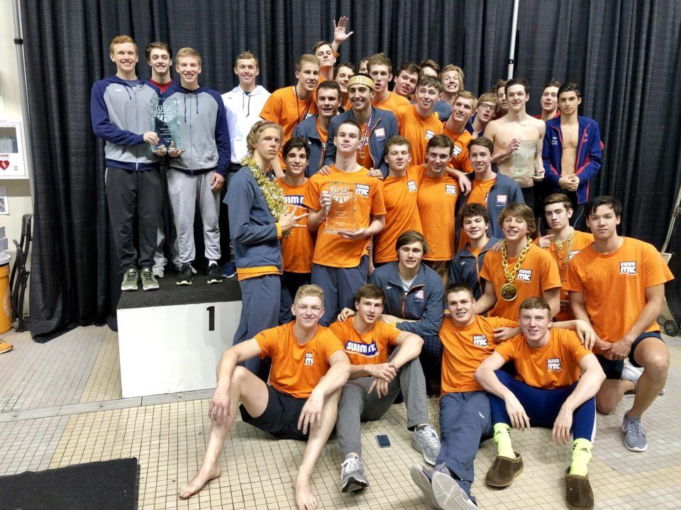 SwimMAC Carolina, Mason Manta Rays Come Away With Juniors-East Titles