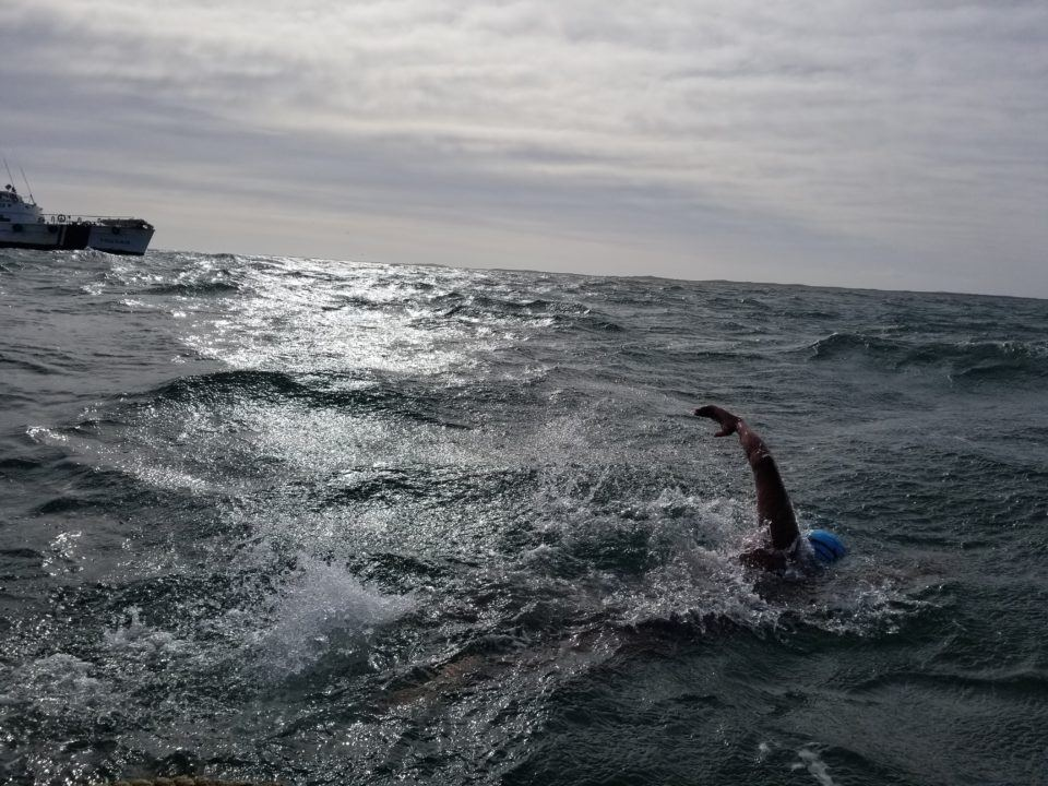 Nagaraja Becomes First Canadian, Indian to Swim Strait of Magellan