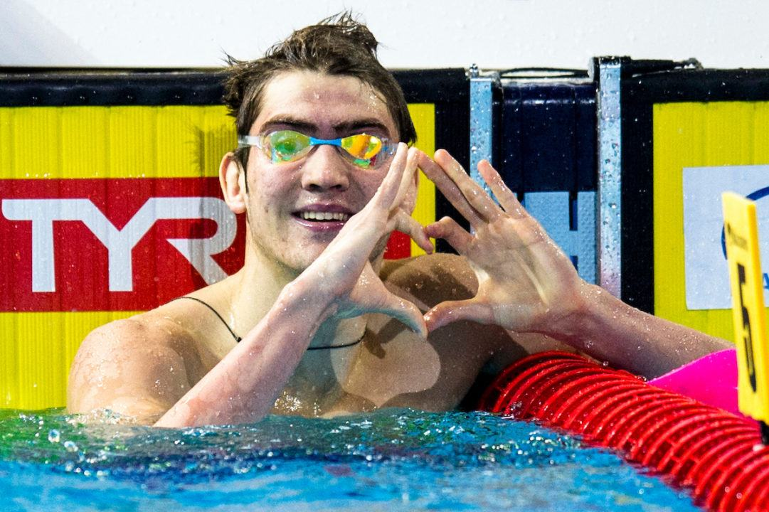 17-Year Old Kliment Kolesnikokv Breaks Matt Grevers' SCM World Record