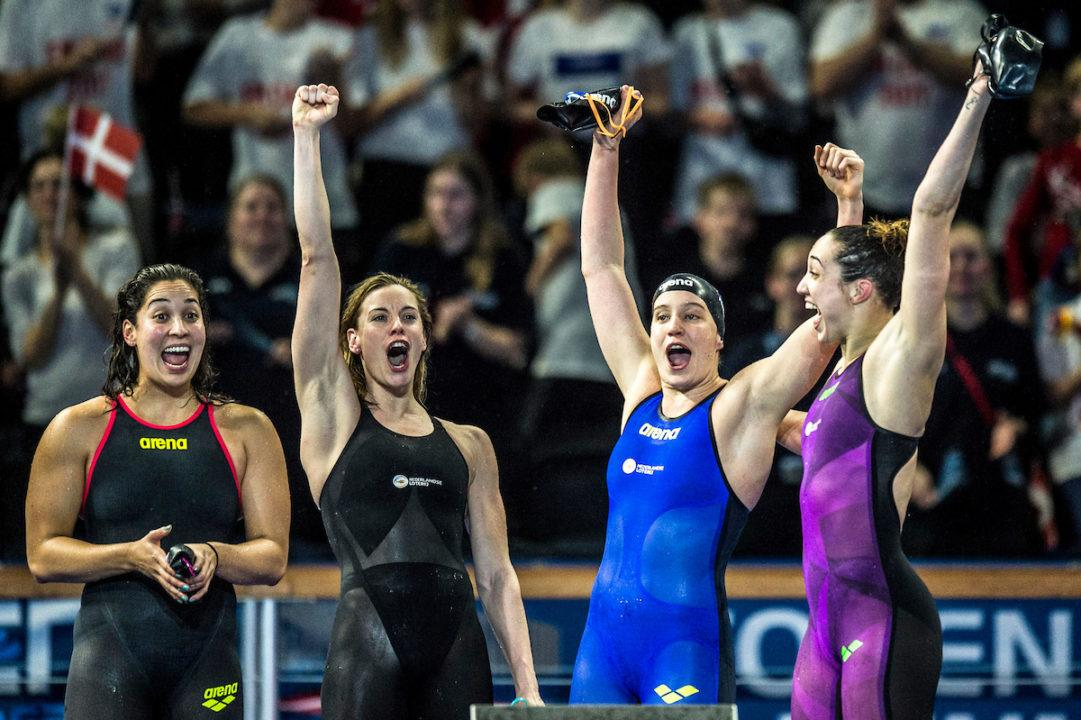 Campionati Europei Vasca Corta-Le Donne Dominano il terzo giorno