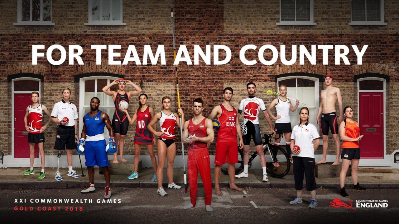 Arena Unveils Team England Kit for 2018 Commonwealth Games