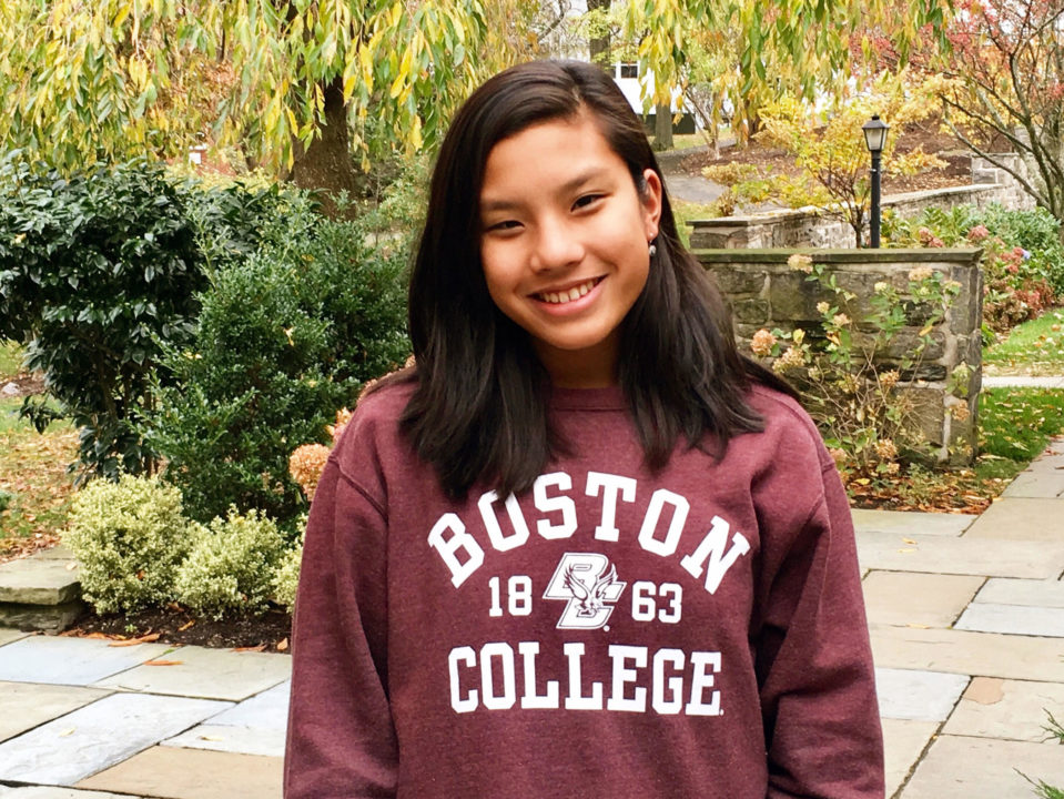 Breaststroker Alexa Lantin Verbally Commits to Boston College