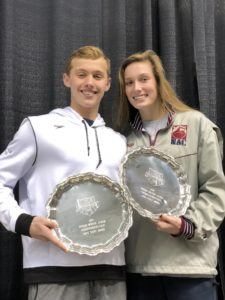 Carson Foster, Alex Walsh Win High Point Awards at Juniors – East